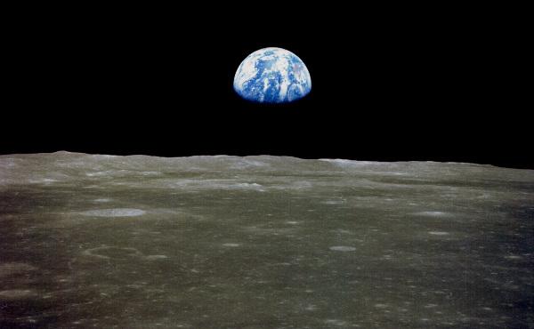 La Terre vue de la Lune par la mission Apollo 11