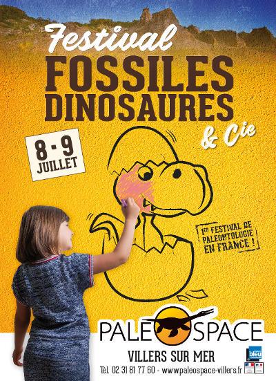 Festival Fossiles Dinosuares et Compagnie