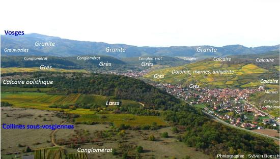 Un aperçu de la diversité géologique des champs de fractures