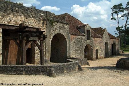 Les forges de Buffon, près de Montbard (Côte d'Or)