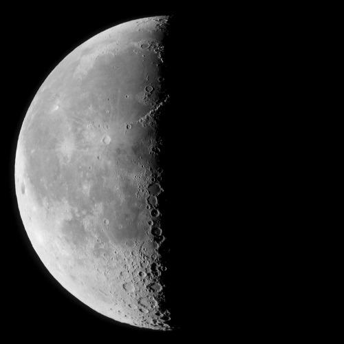 Lune en dernier quartier