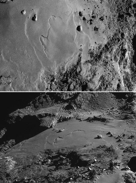 Comparaison entre vues verticale oblique d'Imhotep