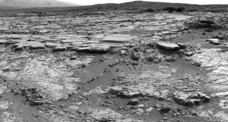 La roche Snake River photographiée le sol 147 (3 janvier 2013)