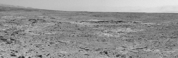 Le site de Cooperstown photographié le 28 octobre 2013 (sol 437, 28 octobre 2013)