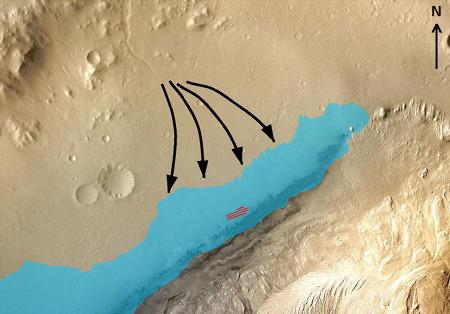 Interprétation paléo-sédimentaire des observations dans le secteur de Kimberley