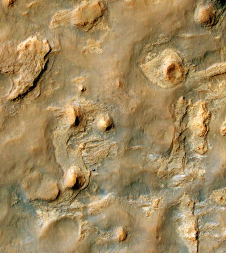 La région de Kimberley vue par la caméra Hirise de MRO, le 11 avril 2014