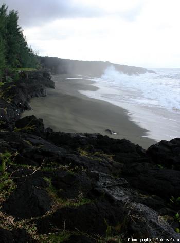 La plage du Tremblet, ile de La Réunion