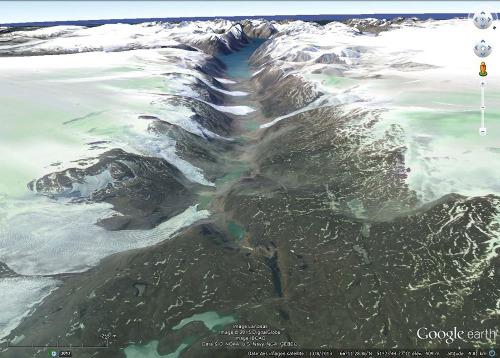 Autre vue de ce fjord de la côte Ouest du Groenland