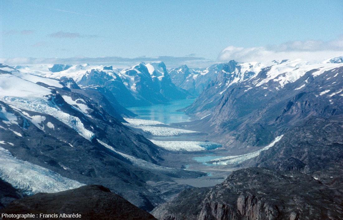 Fjord de la côte Ouest du Groenland