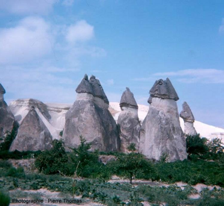 Des cheminées de fée en Cappadoce (Anatolie Centrale, Turquie)