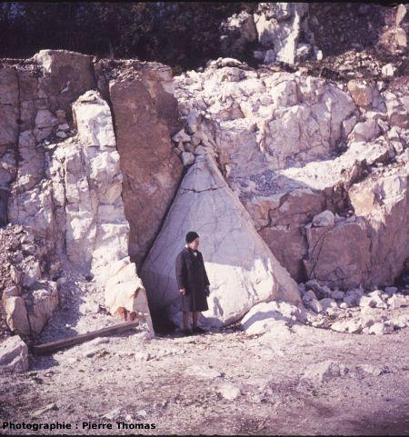 Un quartz géant à Saint Paul La Roche (Dordogne)