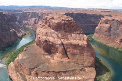 Vue générale du site du canyon du Colorado