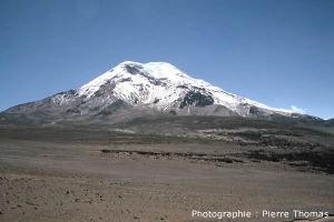 Face Ouest du Chimborazo, Équateur
