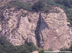 Rosace phonolitique, roche de Sanadoire, massif des Monts-Dore (63)