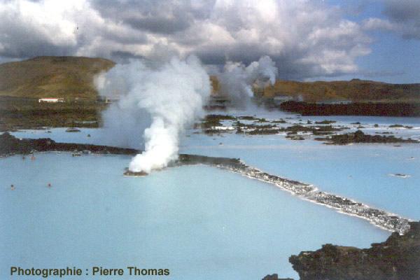 Vue générale du Lagon Bleu (Blaa Ionid, Islande)
