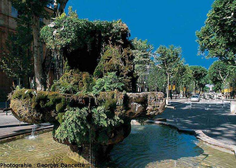 La Fontaine Moussue dAix en Provence