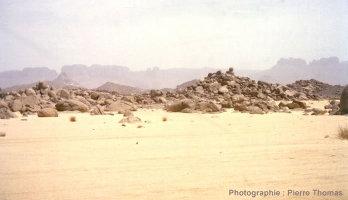 Chaos granitique dans le Tassili (Sahara algérien)