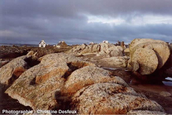 Les rochers de Saint Guénolé (Finistère)