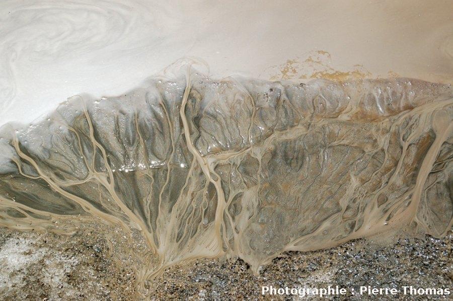 Un delta dans le massif de Bellecôte (Savoie)