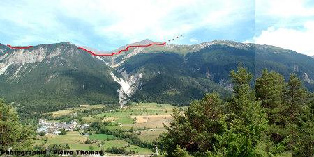 La nappe des schistes lustrés, entre Modane et Termignon (vallée de la Maurienne, 73)