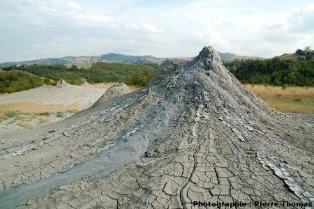 Détail du groupe de volcans 3, Nirano (Emilie-Romagne, Italie)