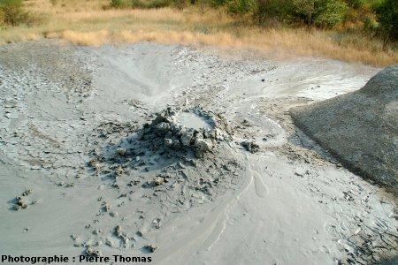 Vue d'ensemble du volcan de boue de l'image 1, Nirano (Émilie Romagne)