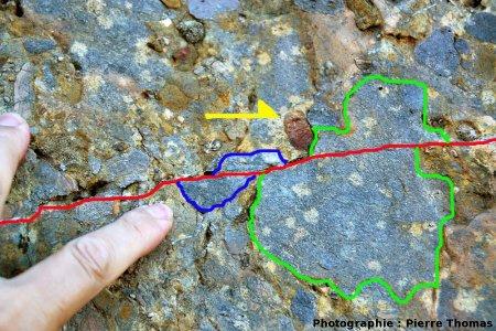 Interprétation structurale de cet autre micro-chevauchement, Cucugnan (11)