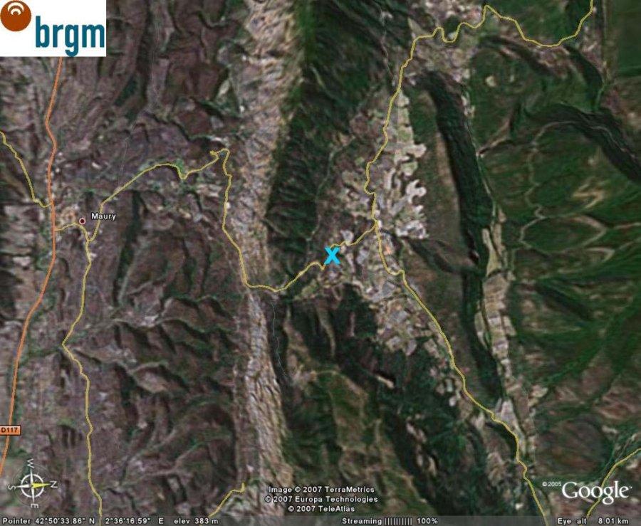 Vue Google Earth verticale, Cucugnan (11)