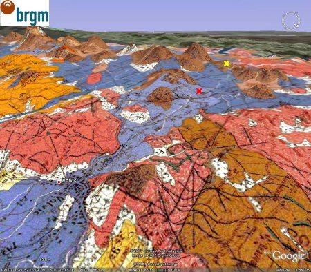 Géologie du secteur de Volvic (Puy de Dôme)