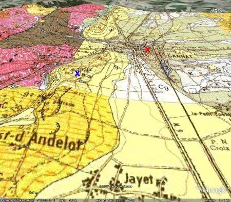 Cadre géologique de la carrière du Mont Libre de Gannat (Allier)