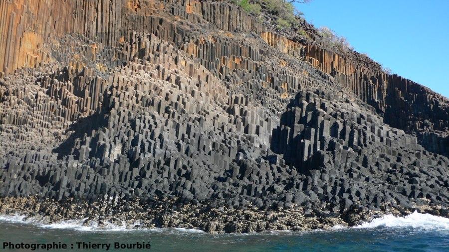 Les orgues basaltiques de l'île Mitsio (Madagascar)