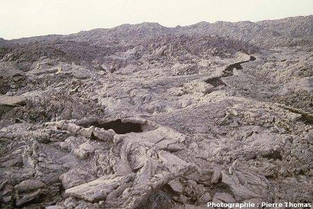 Champ de lave au Sud de l'Enclos Fouqué, Île de La Réunion
