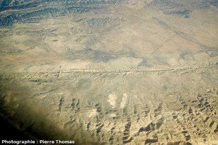 La faille de San Andrea dans le Carrizo Plain National Monument (Californie, USA)