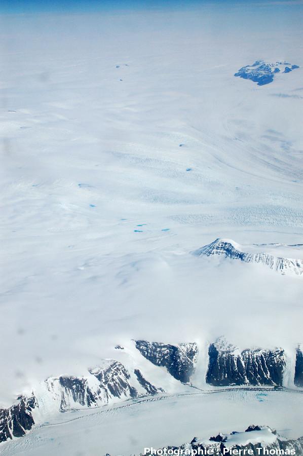 La calotte glaciaire groenlandaise proprement dite