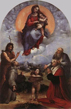 La Madone de Foligno (Raphaël)