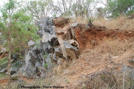 Stratifications en arêtes de poisson dans des grès du groupe de Moodies (3,22Ga), Afrique du Sud