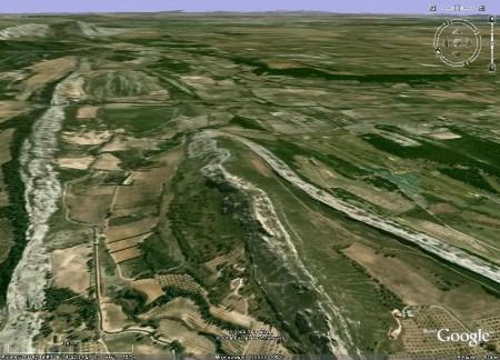 Terminaison péri-anticlinale dans les Alpilles (13) entre Aureille et Maussane-les-Alpilles