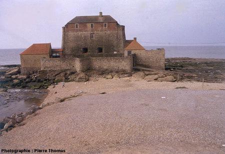 Le fort Mac Mahon, estuaire de la Slack (Pas de Calais)