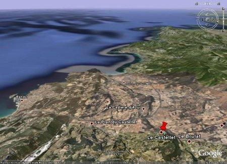 Le Castellet, près de la côte varoise