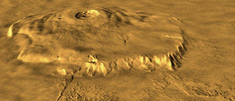 Olympus Mons, volcan de Mars