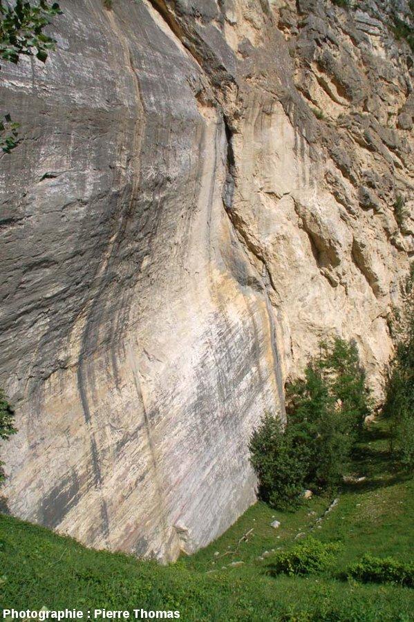 Fond de l'ancienne carrière (réhabilitée) de la Petite Balme de Sillingy (Haute Savoie)