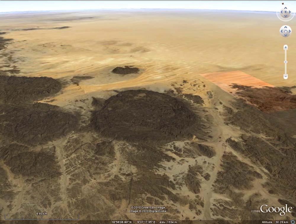 Une intrusion granitique de l'Aïr (Niger)