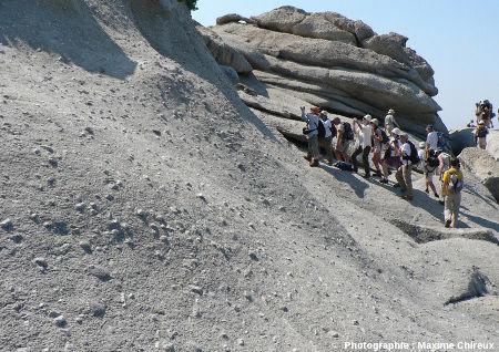 Autre affleurement de la granodiorite porphyroïde miocène du Monte Capanne au Capo San Andrea, île d'Elbe (Italie)