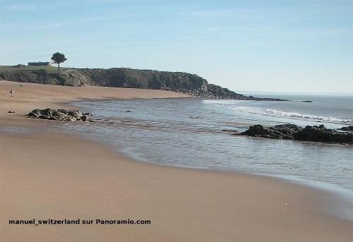 La plage de la Courrance, Saint Marc (commune de St-Nazaire, Loire Atlantique)