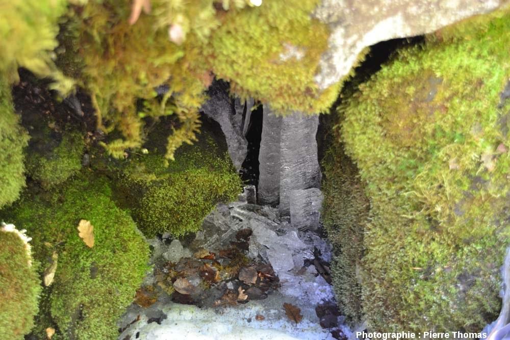 Cavité à glace, cheire du Puy de Côme