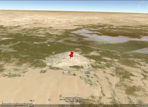 Contexte de l'affleurement à filons de gypse fibreux de l'oasis de Siwa (Égypte)