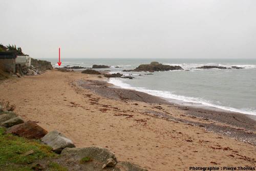 Vue générale de la plage de la Mine, Piriac-sur-Mer, Loire Atlantique