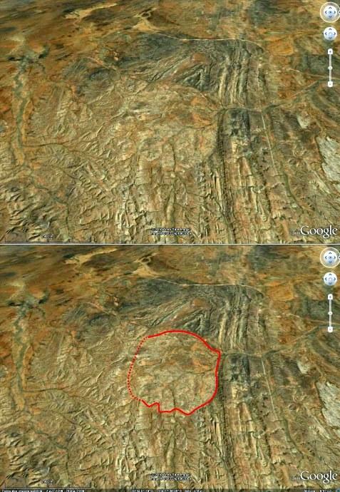 """L'intrusion granitique de la """"Devils Marbles Conservation Reserve"""", Australie"""