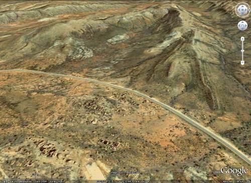 """Bordure Ouest de l'intrusion granitique de la """"Devils Marbles Conservation Reserve"""", Australie"""