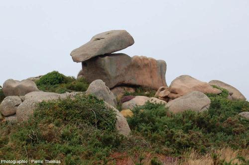 Chaos granitique sur la côte de granite rose, entre Trégastel et Ploumanc'h